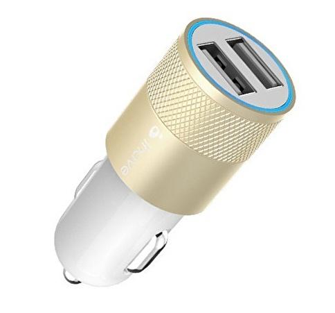 ihave Ihave Dual Port USB Araç Çakmaklık Şarj Cihaz Adaptörü 2100mA  Renkli